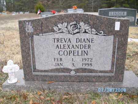 COPELIN, TREVA DIANE ALEXANDER - Desha County, Arkansas | TREVA DIANE ALEXANDER COPELIN - Arkansas Gravestone Photos