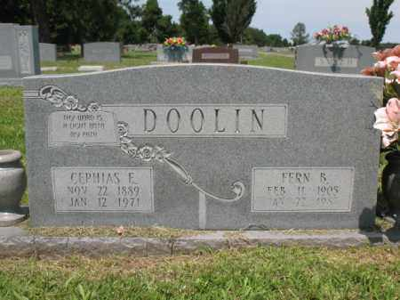 DOOLIN, CEPHIAS E - Desha County, Arkansas | CEPHIAS E DOOLIN - Arkansas Gravestone Photos