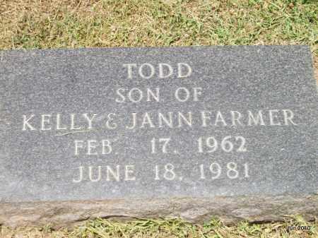 FARMER, TODD - Desha County, Arkansas | TODD FARMER - Arkansas Gravestone Photos