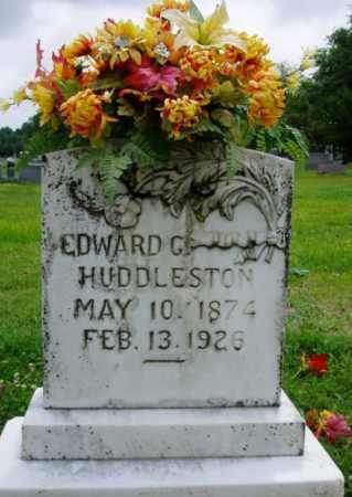 HUDDLESTON, EDWARD G. - Desha County, Arkansas | EDWARD G. HUDDLESTON - Arkansas Gravestone Photos