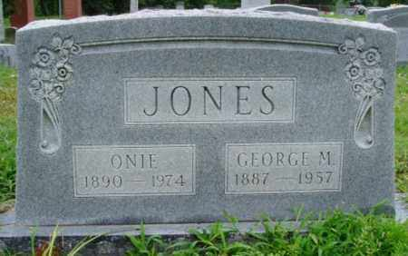 JONES, ONIE - Desha County, Arkansas | ONIE JONES - Arkansas Gravestone Photos