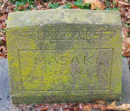 MASAKI, INFANT - Desha County, Arkansas | INFANT MASAKI - Arkansas Gravestone Photos