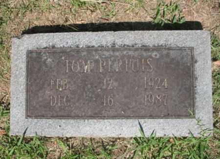 PERTUIS, TOM - Desha County, Arkansas | TOM PERTUIS - Arkansas Gravestone Photos