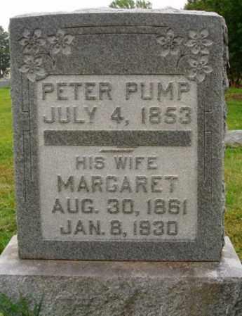 PUMP, MARGARET - Desha County, Arkansas | MARGARET PUMP - Arkansas Gravestone Photos