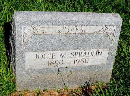 SPRADLIN, JOCIE M - Desha County, Arkansas | JOCIE M SPRADLIN - Arkansas Gravestone Photos