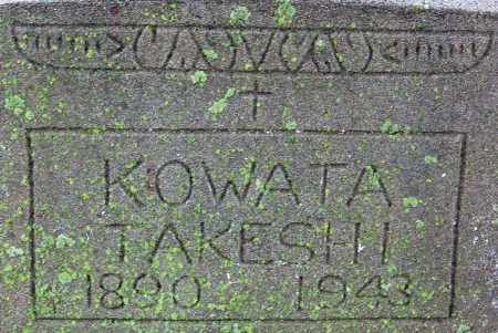 KOWATA, TAKESHI - Desha County, Arkansas | TAKESHI KOWATA - Arkansas Gravestone Photos