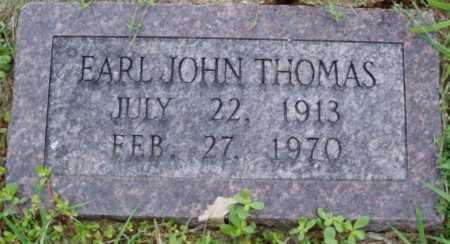 THOMAS, EARL JOHN - Desha County, Arkansas | EARL JOHN THOMAS - Arkansas Gravestone Photos