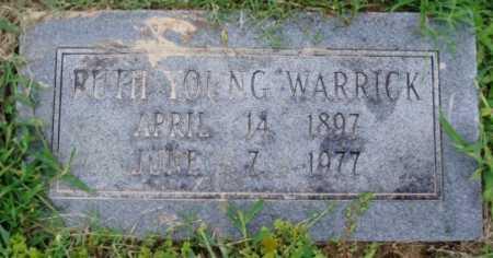WARRICK, RUTH - Desha County, Arkansas | RUTH WARRICK - Arkansas Gravestone Photos