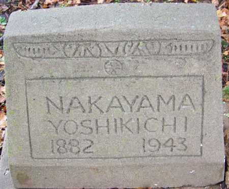 NAKAYAMA, YOSHIKICHI - Desha County, Arkansas | YOSHIKICHI NAKAYAMA - Arkansas Gravestone Photos