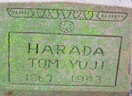 HARADA, TOM YUGI - Desha County, Arkansas | TOM YUGI HARADA - Arkansas Gravestone Photos