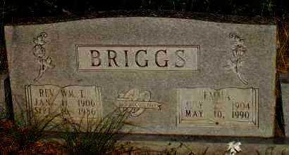 LANGDON BRIGGS, EMMA - Drew County, Arkansas | EMMA LANGDON BRIGGS - Arkansas Gravestone Photos