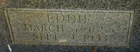 HAMILTON, EDDIE (CLOSE UP) - Drew County, Arkansas | EDDIE (CLOSE UP) HAMILTON - Arkansas Gravestone Photos