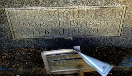 HAMILTON, VICIE (CLOSE UP) - Drew County, Arkansas | VICIE (CLOSE UP) HAMILTON - Arkansas Gravestone Photos