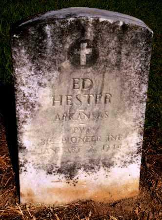 HESTER (VETERAN), ED - Drew County, Arkansas | ED HESTER (VETERAN) - Arkansas Gravestone Photos
