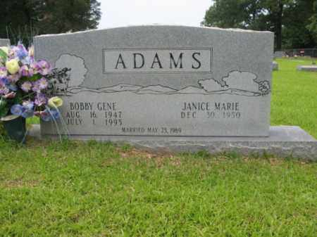 ADAMS, BOBBY GENE - Drew County, Arkansas   BOBBY GENE ADAMS - Arkansas Gravestone Photos