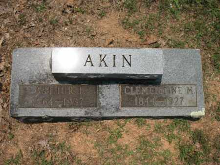 AKIN, CLEMENTINE M - Drew County, Arkansas | CLEMENTINE M AKIN - Arkansas Gravestone Photos