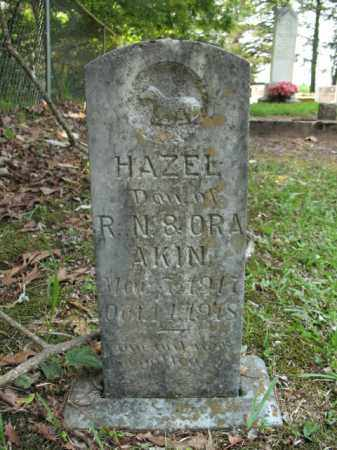 AKIN, HAZEL - Drew County, Arkansas | HAZEL AKIN - Arkansas Gravestone Photos