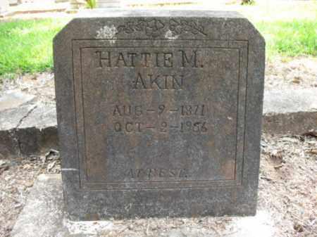AKIN, HATTIE M - Drew County, Arkansas | HATTIE M AKIN - Arkansas Gravestone Photos