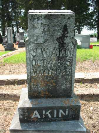 AKIN, J W - Drew County, Arkansas | J W AKIN - Arkansas Gravestone Photos