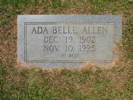 ALLEN, ADA BELLE - Drew County, Arkansas | ADA BELLE ALLEN - Arkansas Gravestone Photos