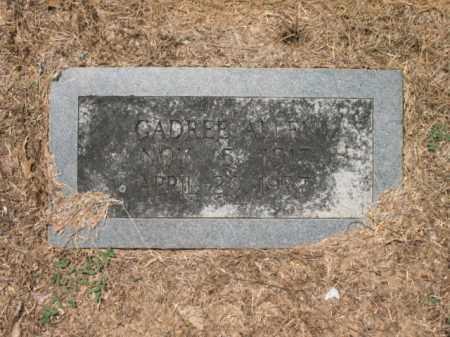 ALLEN, CADREE - Drew County, Arkansas | CADREE ALLEN - Arkansas Gravestone Photos