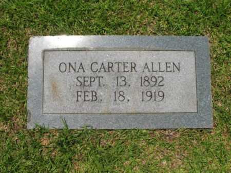 ALLEN, ONA - Drew County, Arkansas | ONA ALLEN - Arkansas Gravestone Photos