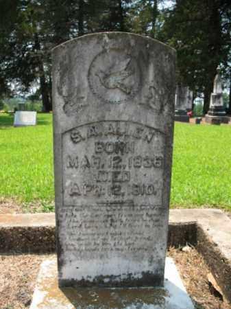 ALLEN, S A - Drew County, Arkansas | S A ALLEN - Arkansas Gravestone Photos