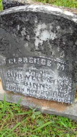 BINNS, CLARENCE M - Drew County, Arkansas | CLARENCE M BINNS - Arkansas Gravestone Photos