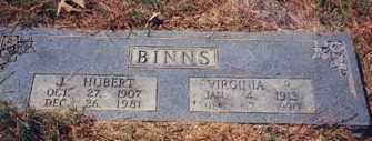 BINNS, VIRGINIA R - Drew County, Arkansas   VIRGINIA R BINNS - Arkansas Gravestone Photos