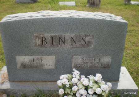 BINNS, JAMES HENRY - Drew County, Arkansas | JAMES HENRY BINNS - Arkansas Gravestone Photos