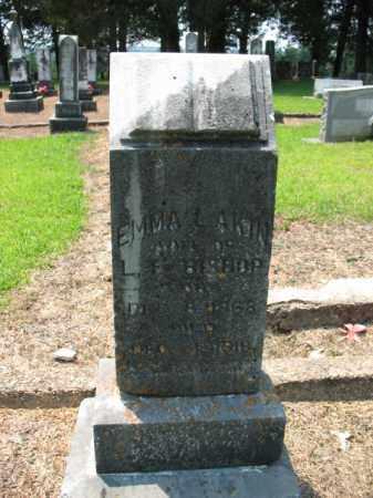 AKIN BISHOP, EMMA L - Drew County, Arkansas | EMMA L AKIN BISHOP - Arkansas Gravestone Photos