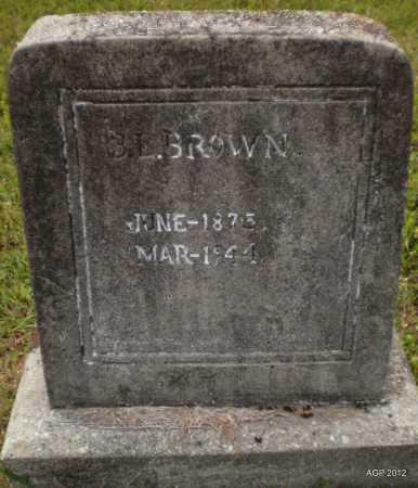 BROWN, BANNY LEE - Drew County, Arkansas | BANNY LEE BROWN - Arkansas Gravestone Photos