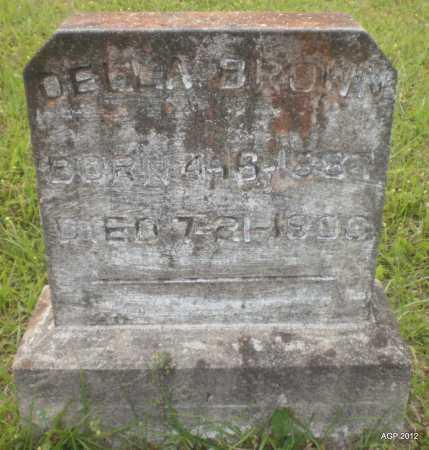 BROWN, DELLA E - Drew County, Arkansas | DELLA E BROWN - Arkansas Gravestone Photos