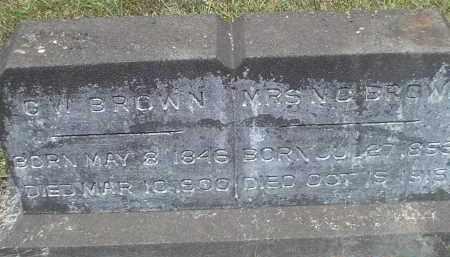 PHILLIPS BROWN, NANCY CAROLINE - Drew County, Arkansas | NANCY CAROLINE PHILLIPS BROWN - Arkansas Gravestone Photos