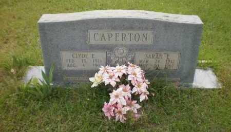 CAPERTON, CLYDE E - Drew County, Arkansas | CLYDE E CAPERTON - Arkansas Gravestone Photos