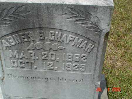 CHAPMAN, ABNER B - Drew County, Arkansas   ABNER B CHAPMAN - Arkansas Gravestone Photos