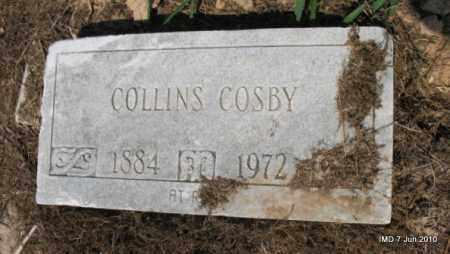 COSBY, COLLINS - Drew County, Arkansas | COLLINS COSBY - Arkansas Gravestone Photos