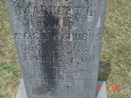 GRUBBS, MARGARET L - Drew County, Arkansas | MARGARET L GRUBBS - Arkansas Gravestone Photos