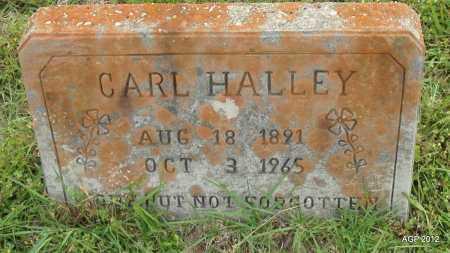 HALLEY, CARL - Drew County, Arkansas | CARL HALLEY - Arkansas Gravestone Photos