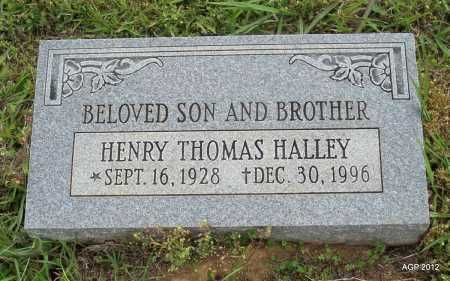 HALLEY, HENRY THOMAS - Drew County, Arkansas | HENRY THOMAS HALLEY - Arkansas Gravestone Photos