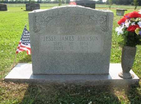 JOHNSON, JESSE JAMES - Drew County, Arkansas | JESSE JAMES JOHNSON - Arkansas Gravestone Photos