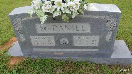 MCDANIEL, MADISON - Drew County, Arkansas | MADISON MCDANIEL - Arkansas Gravestone Photos