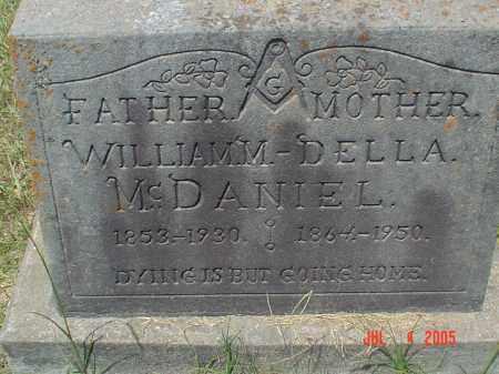 MCDANIEL, WILLIAM MADISON - Drew County, Arkansas | WILLIAM MADISON MCDANIEL - Arkansas Gravestone Photos