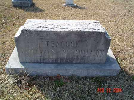 MASON PEACOCK, CORA ALICE - Drew County, Arkansas | CORA ALICE MASON PEACOCK - Arkansas Gravestone Photos