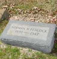 PEACOCK, NORMAN WHALEY - Drew County, Arkansas | NORMAN WHALEY PEACOCK - Arkansas Gravestone Photos