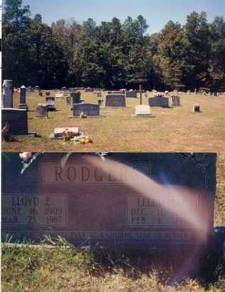 RODGERS, LLOYD E - Drew County, Arkansas | LLOYD E RODGERS - Arkansas Gravestone Photos