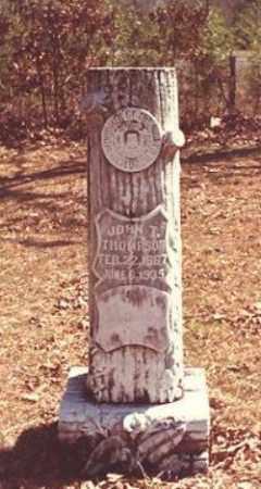 THOMPSON, JOHN T. - Drew County, Arkansas | JOHN T. THOMPSON - Arkansas Gravestone Photos