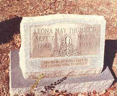 THOMPSON, LEONA MAY - Drew County, Arkansas | LEONA MAY THOMPSON - Arkansas Gravestone Photos