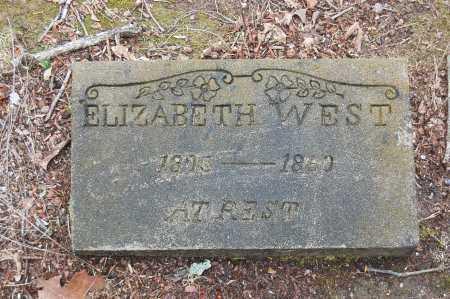 LADD WEST, ELIZABETH - Drew County, Arkansas | ELIZABETH LADD WEST - Arkansas Gravestone Photos