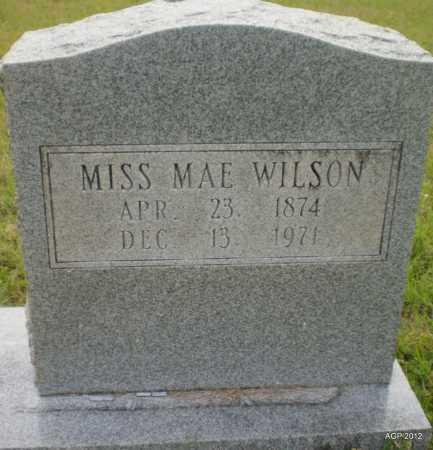 WILSON, MAE FRANCIS - Drew County, Arkansas   MAE FRANCIS WILSON - Arkansas Gravestone Photos